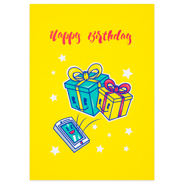 Birthday Gifts Card