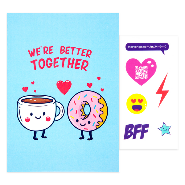Coffee and Donuts Card