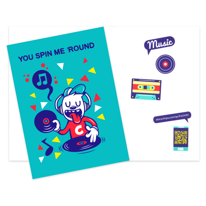 Spin Me Round Card