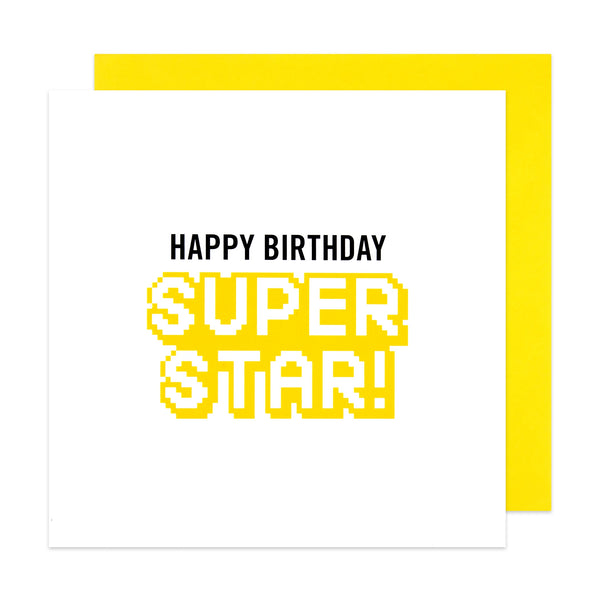 Happy Birthday Super Star! Card