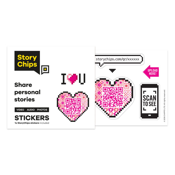 Heart Single Sticker