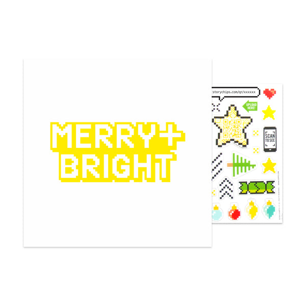 Merry Bright Card