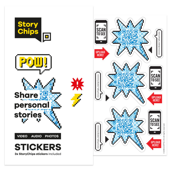 Pow! Stickers