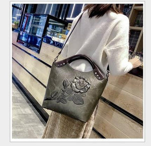 2019 women messenger bags Genuine Leather crossbody bag ladies designer handbags female crocodile print chain shoulder bag NEW