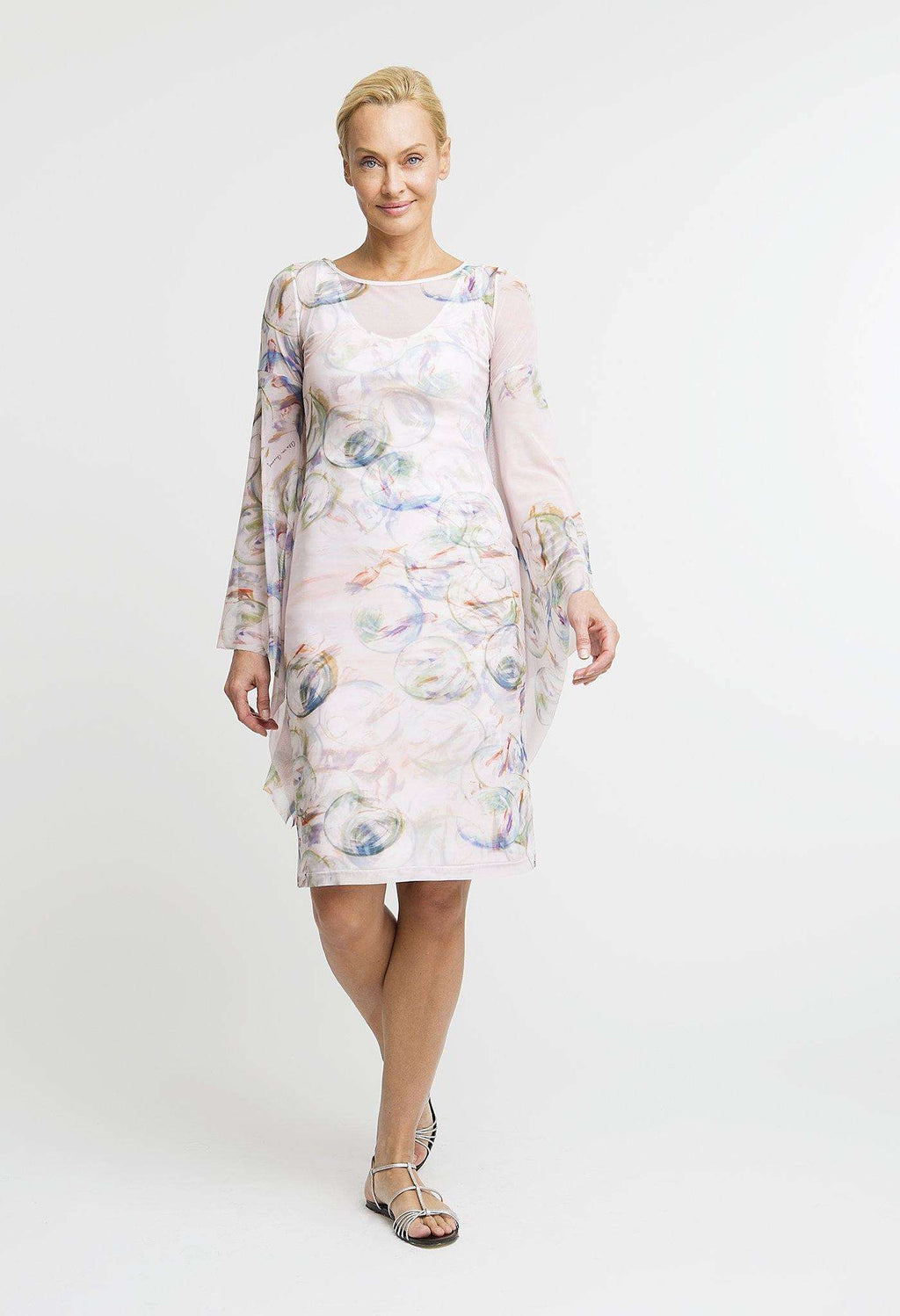 Emilie Short Dress in Nonsuch