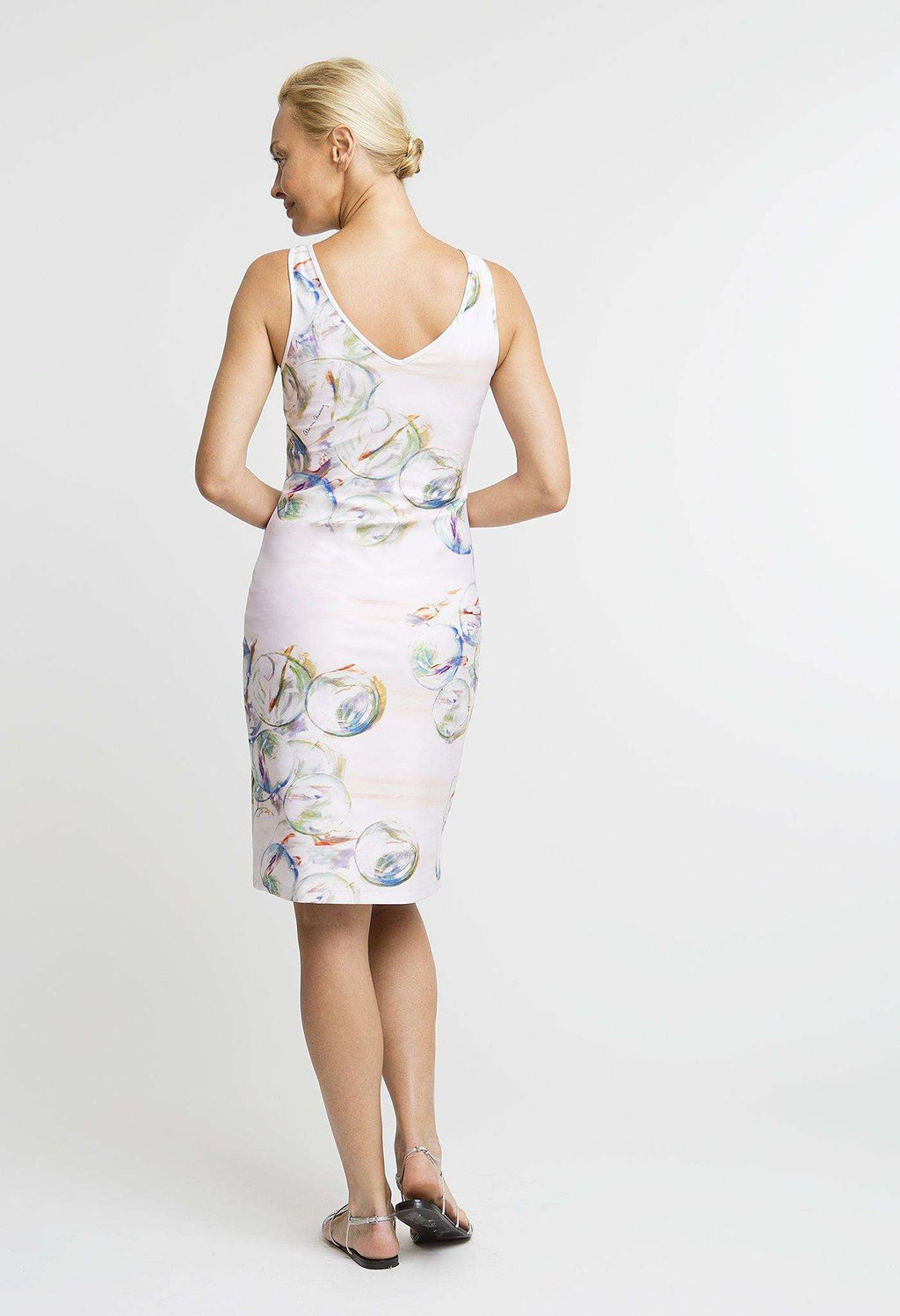 Lavinia Short Dress in Nonsuch