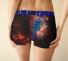 Emcee Ladies Galaxy Boy Shorts