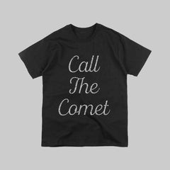 CALL THE COMET TOUR BLACK T-SHIRT