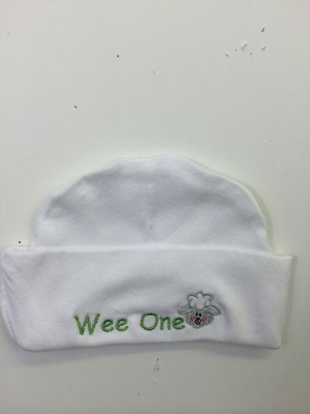Embroidered Baby Knit Hat