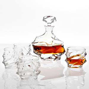 Decanter Gatsby set of 5