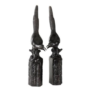 Bookend Magpie set of 2
