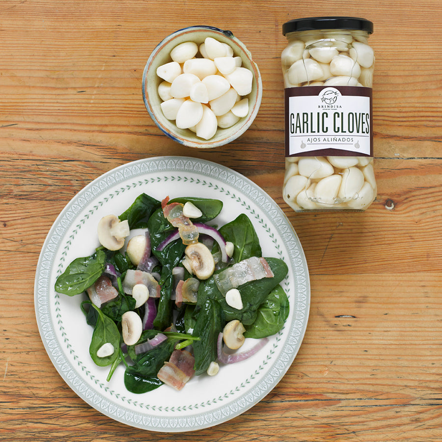 Brindisa Pickled Garlic Cloves 235g