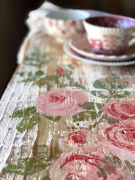 Buy I.O.D. Painterly Roses Decor Stamp by Iron Orchid Designs @ The Painted Heirloom
