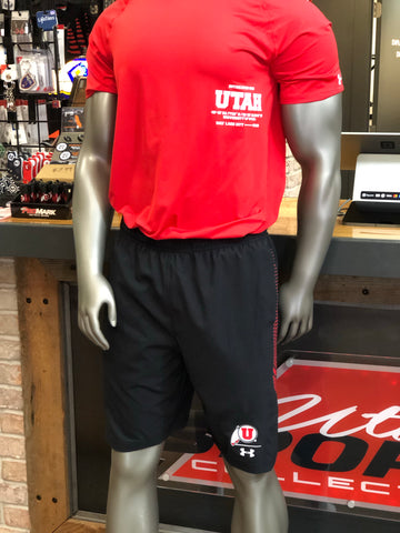 Utah Under Armour Sideline Men's Team Shorts Black