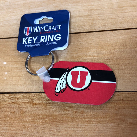 Utah Aluminum Key Tag - Utah Sports Collective