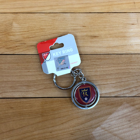 Real Salt Lake Spinner Keychain - Utah Sports Collective