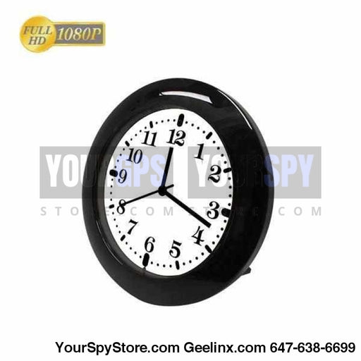 Clock Camera - HD 1080P Wi-Fi Wall/Desk Clock Wi-Fi Camera