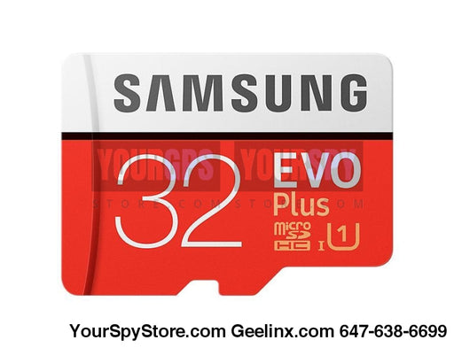 Memory Cards - 32GB EVO Plus Micro SD Card 95 MBs (SD Adapter)