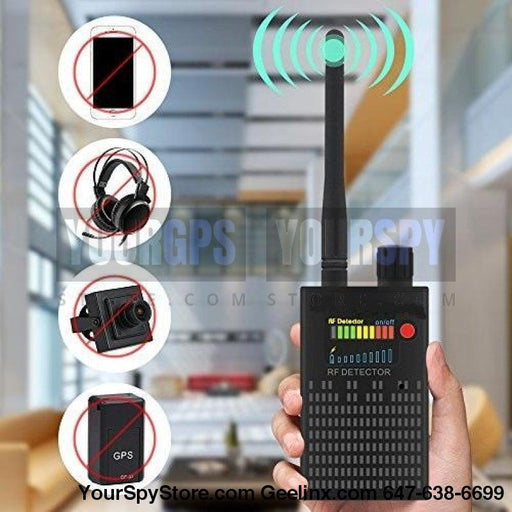 Smart Detectors - 1MHz-8GHz Multi-functional Detector Anti-Spy Anti-Monitor, Anti-Tracker