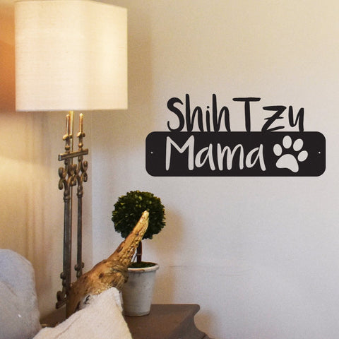 Dog Mama - Metal Wall Art