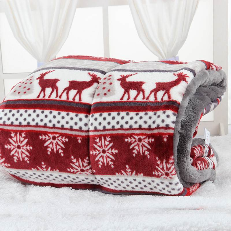 Christmas Dog Soft/ Warm Bed Blanket -  Sport Pet Shop
