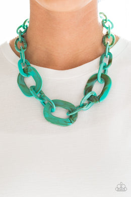 All In - VINCIBLE - Blue Necklace