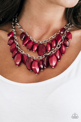 Royal Retreat - Red Necklace