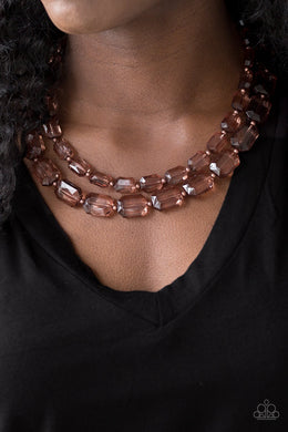 Ice Bank - Copper Necklace