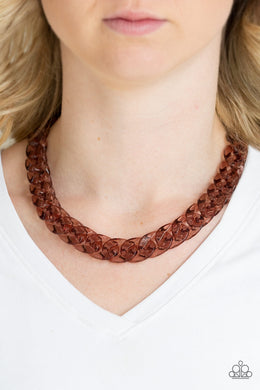 Put It On Ice - Copper Necklace