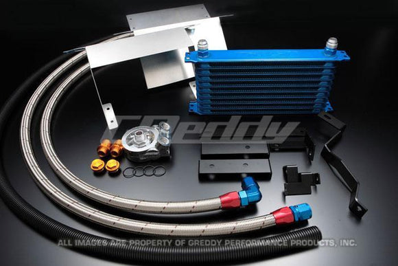 GReddy S2000 Circuit Spec V-Mount Oil Cooler Kit With Ducting