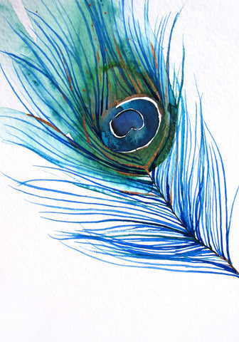 Peacock Feather I - Mai Autumn - Artwork