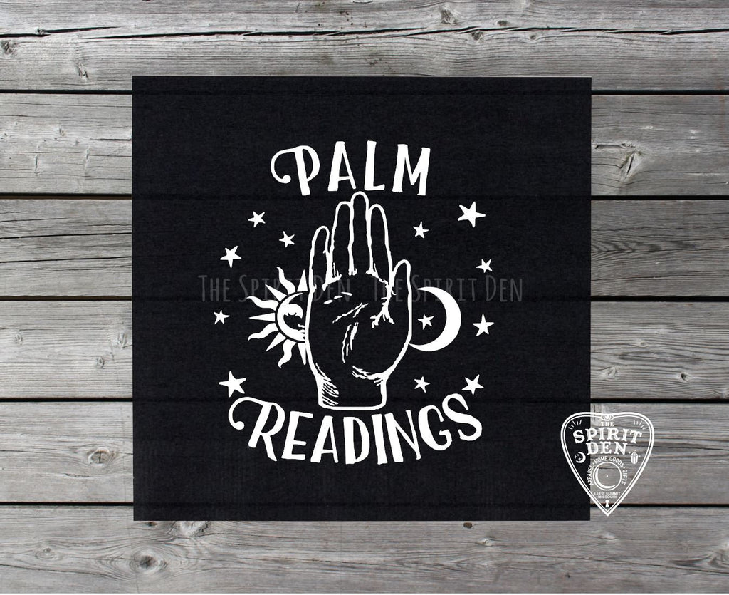 Palm Readings Altar Cloth
