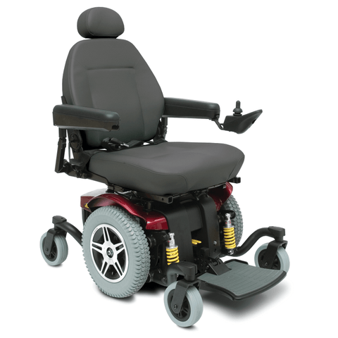 Pride Mobility: Jazzy 614HD Bariatric Power Chair - Mobility Scooters Store