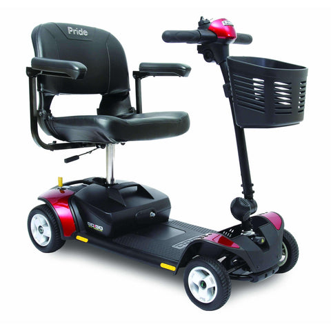 Pride Mobility: Go-Go Elite Traveler 4 Wheel Scooter - Mobility Scooters Store