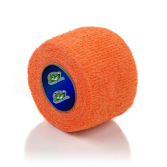 Orange Stretch Grip Hockey Tape