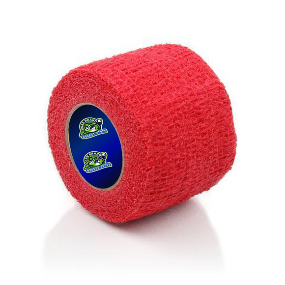 Red Stretch Grip Hockey Tape