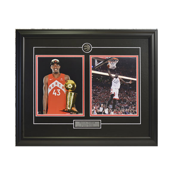 Pascal Siakam Trophy & Action Shot Framed Photo (23 by 19 Frame)