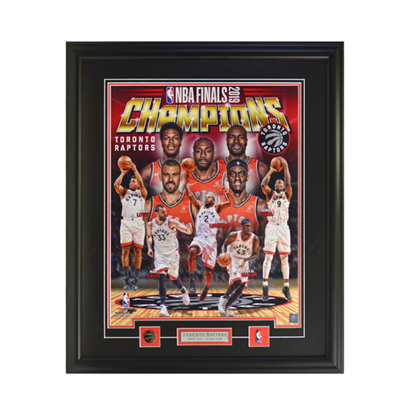 NBA Champions Collage Framed Photo (27 by 29 Frame)