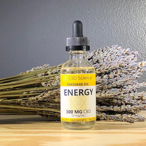 CBD Massage Oil - 300 MG