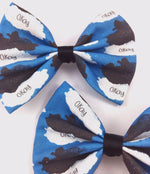 CLEARANCE! TFIOS Watercolour Clouds Okay Okay Print Medium Hair Bow