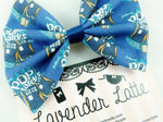 CLEARANCE! Doctor Who Inspired Pop Tardis Fabric Print Medium Hair Bow