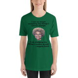 Bella and Canvas Short-Sleeve Unisex T-Shirt: Angela Davis quote