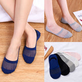 Quartz Fiber Women Ankle Invisible Socks - chicstocking