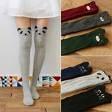 New Fashion Women's 3D Cartoon Animal Pattern Thigh Stockings Over Knee High - chicstocking
