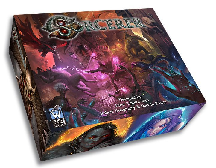 Sorcerer Base Game - Board Games Master Australia | KIds | Familiy | Adults | Party | Online | Strategy Games | New Release