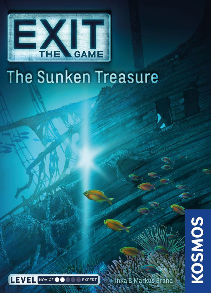 Exit the Game the Sunken Treasure - Board Games Master Australia | KIds | Familiy | Adults | Party | Online | Strategy Games | New Release