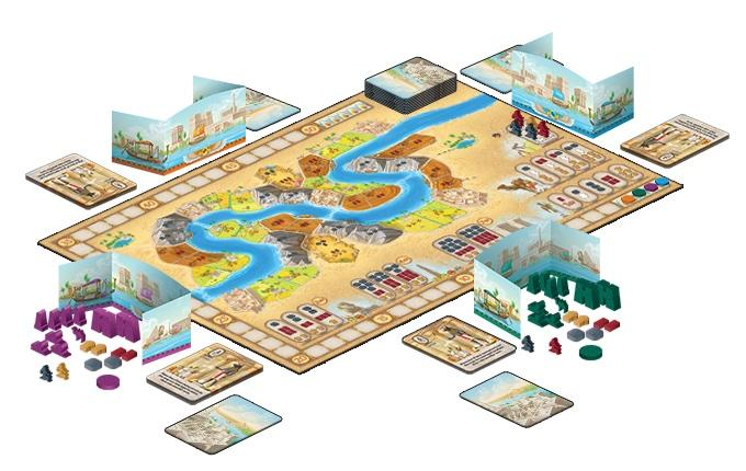 Sailing Toward Osiris - Board Games Master Australia | KIds | Familiy | Adults | Party | Online | Strategy Games | New Release