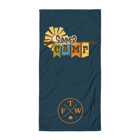 Summer Camp Towel