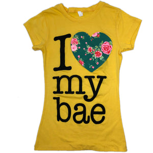 I LOVE MY BAE TEE