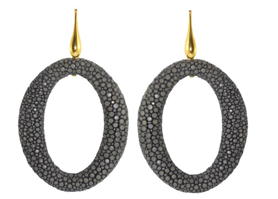 Steel grey Stingray hoops